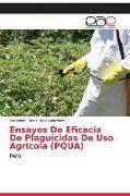 Cover-Bild zu Ensayos De Eficacia De Plaguicidas De Uso Agrícola (PQUA) von Bravo Martínez, Fernando Carlos