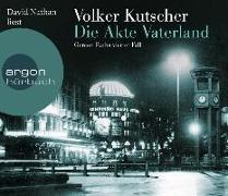 Cover-Bild zu Die Akte Vaterland von Kutscher, Volker