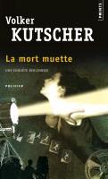 Cover-Bild zu La mort muette von Kutscher, Volker