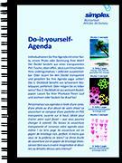 Cover-Bild zu Do it yourself A6 Daily schwarz/weiss 2015/2016