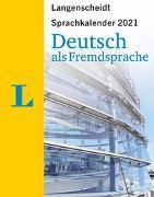 Cover-Bild zu Langenscheidt Sprachkalender Deutsch als Fremdsprache 2021