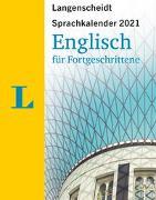 Cover-Bild zu Langenscheidt Sprachkalender Englisch für Fortgeschrittene 2021