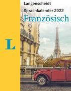 Cover-Bild zu Langenscheidt Sprachkalender Französisch 2022