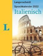 Cover-Bild zu Langenscheidt Sprachkalender Italienisch 2022