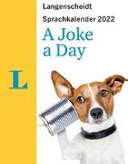 Cover-Bild zu Langenscheidt Sprachkalender A Joke A Day 2022