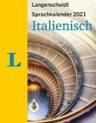 Cover-Bild zu Langenscheidt Sprachkalender Italienisch 2021