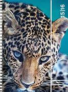 Cover-Bild zu Animals daily A6 Leo 2015/2016