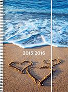 Cover-Bild zu Emotions daily A6 Heartbeach 2015/2016