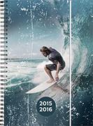 Cover-Bild zu Emotions daily A6 Surfer 2015/2016