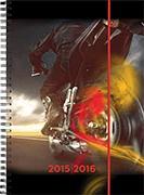 Cover-Bild zu Emotions weekly A5 Bike 2015/2016