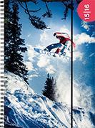 Cover-Bild zu Emotions weekly A5 Snowboarder 2015/2016