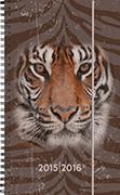 Cover-Bild zu Emotions weekly A6 Tiger 2015/2016
