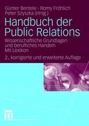 Cover-Bild zu Handbuch der Public Relations