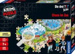 Cover-Bild zu Krimipuzzle ??? Kids 150 Teile / Chaos im Zoo