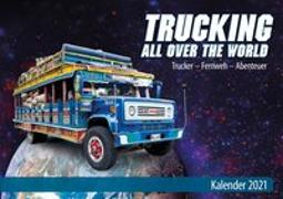 Cover-Bild zu Trucking all over the World - Kalender 2021