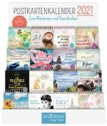 Cover-Bild zu Display Postkartenkalender 2021