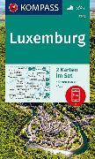 Cover-Bild zu KOMPASS Wanderkarte Luxemburg. 1:50'000