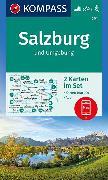 Cover-Bild zu KOMPASS Wanderkarte Salzburg und Umgebung. 1:50'000