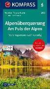 Cover-Bild zu Alpenüberquerung, Am Puls der Alpen. 1:50'000