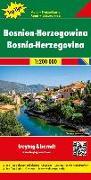 Cover-Bild zu Bosnien-Herzegowina, Autokarte 1:200.000, Top 10 Tips. 1:200'000 von Freytag-Berndt und Artaria KG (Hrsg.)