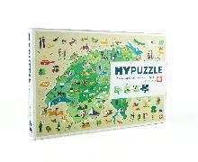 Cover-Bild zu MYPUZZLE Schweiz - Suisse - Svizzera - Svizra von Carreras, Marta