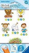 Cover-Bild zu tiptoi® CREATE Sticker Botschaften von Lange, Igor (Illustr.)