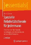 Cover-Bild zu Spezielle Relativitätstheorie für jedermann (eBook) von Sonne, Bernd