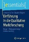 Cover-Bild zu Einführung in die Qualitative Marktforschung (eBook) von Doppler, Susanne