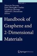 Cover-Bild zu Handbook of Graphene and 2-Dimensional Materials (eBook) von Terrones, Mauricio (Hrsg.)