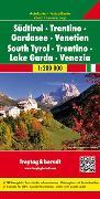 Cover-Bild zu Südtirol - Trentino - Gardasee - Venetien, Autokarte 1:200.000. 1:200'000 von Freytag-Berndt und Artaria KG (Hrsg.)