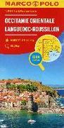 Cover-Bild zu MARCO POLO Karte Frankreich Languedoc-Roussillon 1:300 000. 1:300'000