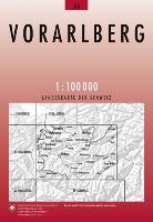 Cover-Bild zu Vorarlberg. 1:100'000