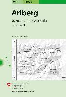 Cover-Bild zu Arlberg. 1:50'000
