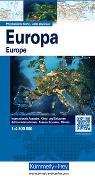 Cover-Bild zu Europa physikalisch. 1:4'500'000 von Hallwag Kümmerly+Frey AG (Hrsg.)