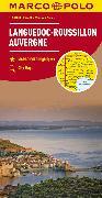 Cover-Bild zu Frankreich Blatt 7 Languedoc-Roussillon, Auvergne. 1:300'000
