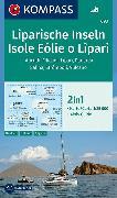 Cover-Bild zu KOMPASS Wanderkarte Liparische Inseln, Isole Eólie o Lìpari, Alicudi, Filicudi, Lìpari, Panarea, Salina, Strómboli, Vulcano. 1:25'000