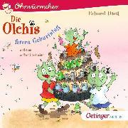 Cover-Bild zu OHRWÜRMCHEN Die Olchis feiern Geburtstag (Audio Download) von Dietl, Erhard
