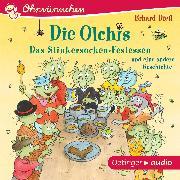 Cover-Bild zu OHRWÜRMCHEN Die Olchis. Das Stinkersocken-Festessen und eine weitere Geschichte (Audio Download) von Dietl, Erhard