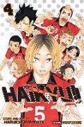 Cover-Bild zu Haruichi Furudate: Haikyu!!, Vol. 4
