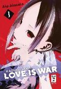Cover-Bild zu Akasaka, Aka: Kaguya-sama: Love is War 01