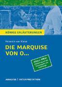 Cover-Bild zu Kleist, Heinrich von: Die Marquise von O... von Heinrich von Kleist (Abitur NRW. Zitatbezug auf die Textausgabe von Schöningh)