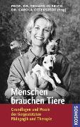 Cover-Bild zu Menschen brauchen Tiere von Olbrich, Erhard