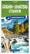 Cover-Bild zu Grächen - Leukerbad Lötschental 41 Wanderkarte 1:40 000 matt laminiert. 1:40'000