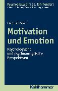 Cover-Bild zu Motivation und Emotion (eBook) von Benecke, Cord
