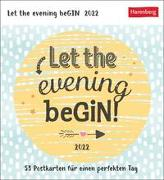Cover-Bild zu Harenberg (Hrsg.): Let the evening beGIN Kalender 2022