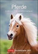 Cover-Bild zu Slawik, Christiane: Pferde Kalender 2022