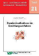 Cover-Bild zu Standardmaßnahmen im Ermittlungsverfahren (eBook) von Averdiek-Gröner, Detlef