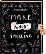 Cover-Bild zu Tagebuch - Handlettering - Make today amazing