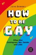 Cover-Bild zu How to Be Gay. Alles über Coming-out, Sex, Gender und Liebe (eBook) von Dawson, Juno