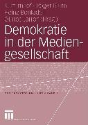 Cover-Bild zu Demokratie in der Mediengesellschaft (eBook) von Imhof, Kurt (Hrsg.)